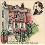 Charles Dickens' Birthplace 1812 Portsmouth