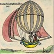Design for Dirigible Balloon- 1785