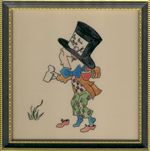 Mad Hatter in Hogarth Frame