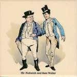 Mr.Pickwick and Sam Weller