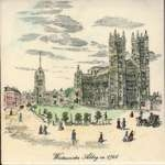 Westminster Abbey in 1746